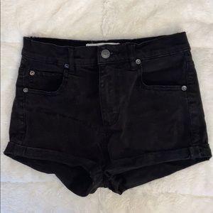 NWOT Garage jean shorts